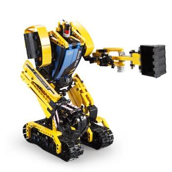 DOUBLE E  双鹰 巨石机器人遥控积木挖掘机 C51026
