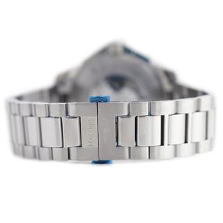 LONGINES 浪琴 康卡斯系列 L2.743.4.76.6 男士机械手表 41-43mm 不锈钢  银色 圆形