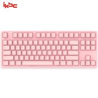 ikbc C200 机械键盘 87键 樱桃青轴 粉色