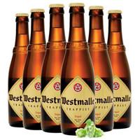 Westmalle 西麦尔 三料啤酒 330ml*6瓶