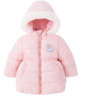 迪士尼  公主索菲娅 女童中长款保暖大衣 *2件
