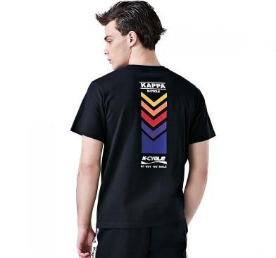 Kappa 卡帕 K0912TD51D-990 男士短袖T恤