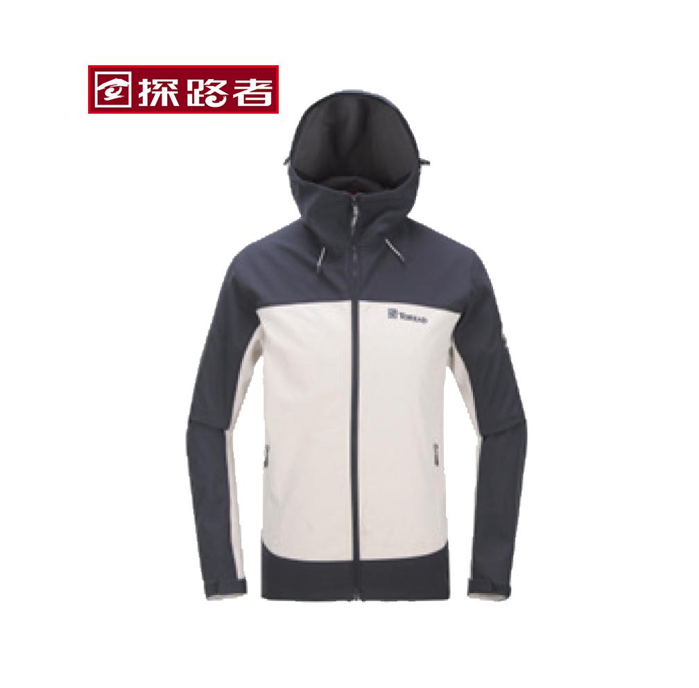 TOREAD 探路者 HAEF91015 男女款软壳衣连帽外套 S