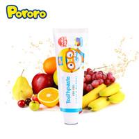 Pororo 啵乐乐 儿童综合口味水果牙膏 80g