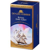 CEYLON KISSES 锡兰之吻 斯里兰卡进口 伯爵口味果味茶叶 红茶包 25包*2g *2件