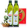 MUELOLIVA 品利 特级初榨橄榄油 500ml*2瓶