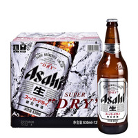 Asahi 朝日啤酒  超爽系列 生啤 11.2°P  630ml*12瓶