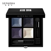 纪梵希(Givenchy) 高定魅彩四色眼影 2# 蓝海泡沫