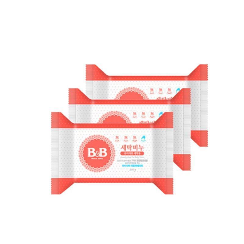 B&B 保宁 婴儿洗衣皂 洋槐香 200g*3块
