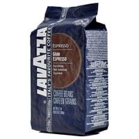LAVAZZA咖啡豆 咖啡粉纯黑特浓咖啡豆1KG