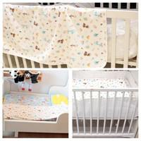 遇童欢 婴儿隔尿垫 可洗夹棉儿童防尿垫 70*120