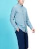 SEVEN 柒牌 修身商务衬衣上衣 112A39040