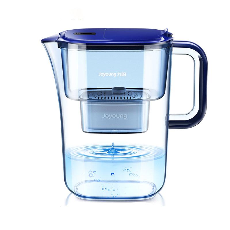 Joyoung 九阳 九阳净水壶自来水过滤器家用净水器厨房直饮滤水壶便携净水杯滤芯