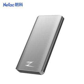 Netac 朗科 Z8 PRO Type-C USB3.1 GEN2 PCIe NVMe 移动固态硬盘 1TB