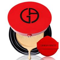 ARMANI 大师造型紧颜粉底液/气垫 遮瑕 持妆恒久 阿玛尼大红气垫