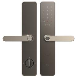 小米米家智能门锁 磨砂金 标准锁体 家用防盗门  指纹锁密码锁 C级锁芯