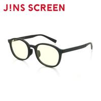 JINS 睛姿 JM SCREEN HEAVY防蓝光辐射护目镜 TR90 FPC17A003 497 亚光黑色