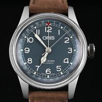 豪利时ORIS 大表冠指针式日历腕表 75477414065LS