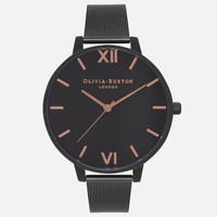 Olivia Burton After Dark Matte 女款时尚腕表