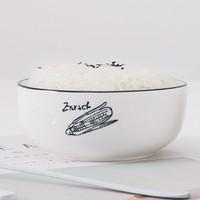 Woliwowa 屋里屋外 北欧风陶瓷碗 4.5英寸4个装