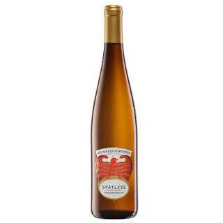 Rheinhessen 莱茵黑森 雷司令桃花鹰晚收甜白葡萄酒 750ml *2件