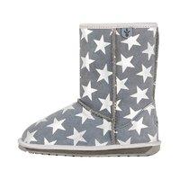 Emu australia 男女童碳色星星印花雪地靴 24-31码