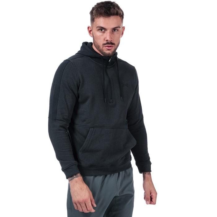 UNDER ARMOUR 安德玛 1/2 Zip Microthread Fleece男士卫衣