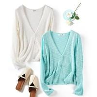 HUASHIMEI 女士空调防晒衫 短款 6色可选
