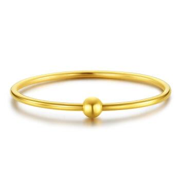 CHJ 潮宏基 SDG30000647 女款万花筒黄金手镯  直径约5.8cm  约12.50g
