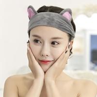 Bejirog 北极绒 猫耳朵束发带 2款可选