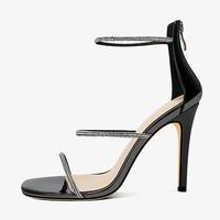 Luiza Barcelos 一字扣搭高跟凉鞋