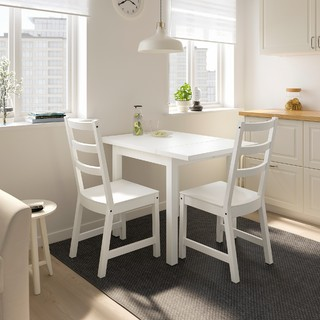 IKEA 宜家 NORDVIKEN 诺德维肯 折叠桌 白色