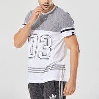 adidas 阿迪达斯 CD1072 GFX TEE  3S NO3 男子短袖T恤