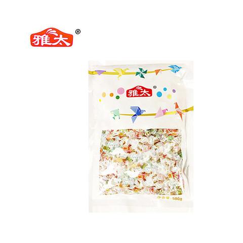 雅太千纸鹤混合水果味硬糖(6种规格)500g *2件