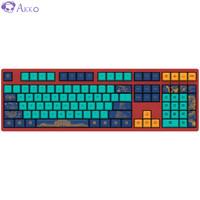 AKKO 3108 V2世界巡回北京 有线机械键盘 游戏键盘 电竞 108键 全尺寸 Cherry轴  樱桃红轴 自营