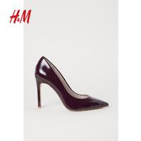 H&M HM0545258 细跟尖头高跟单鞋