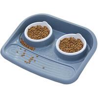 狗盆狗碗猫盆猫碗宠物狗狗食盆猫狗粮碗食具水具用品* 托盘狗碗