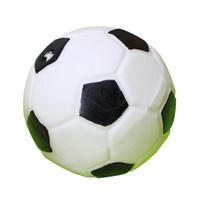 憨憨乐园 狗玩具宠物发声玩具橡胶 足球