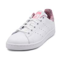 adidas kids 阿迪达斯 STAN SMITH J 休闲鞋 CM8189 35.5-40码 亮白/牛奶粉 *2件