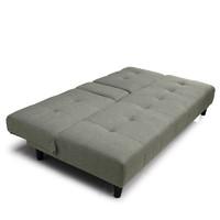 林氏木业 北欧多功能折叠布艺沙发床两用租房小户型单人家具H-SF3