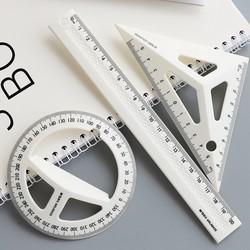 M&G 晨光 立体绘图套尺(三角尺+量角器+直尺)