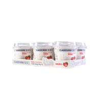 限地区、PLUS会员:CLASSY·KISS 卡士 草莓果粒鲜酪乳 100g*6杯