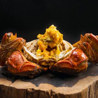 隆上记 六月黄大闸蟹鲜活礼盒 1.7-2.0两/只 8只现货实物 螃蟹礼盒 海鲜水产