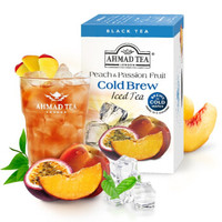 AHMAD 亚曼 冷泡水蜜桃百香果味红茶 2.1g*20袋