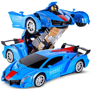 BEIJUE 贝爵 变形遥控玩具车 (宝石蓝)
