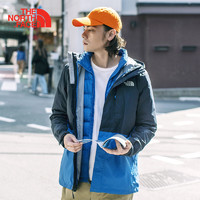 THE NORTH FACE 北面 3L8O 男款三合一冲锋衣