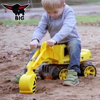德国进口BIG 大号挖掘机玩具车可坐可骑挖土机儿童玩具男孩工程车汽车模型3-4-6岁