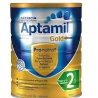 Aptamil 爱他美 金装婴儿奶粉 2段 900g