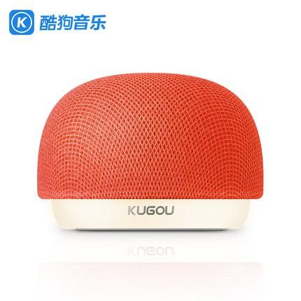 KUGOU 酷狗 蘑蘑小音 蓝牙音箱 (红色)