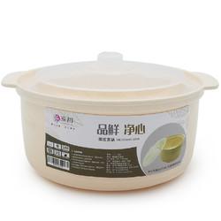 微波炉专用碗塑料双耳微波炉锅微波炉加热饭盒冰箱食物保鲜盒